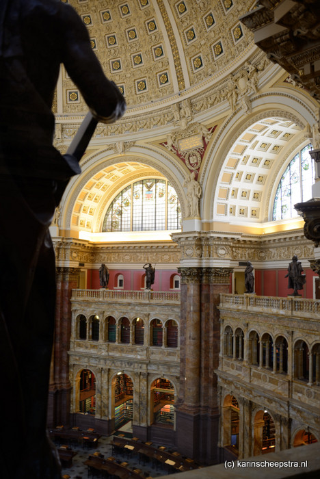library of congress washington -foto: karin scheepstra-