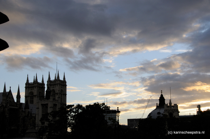westminster abbey en st paul's cathedral -foto: karin scheepstra-