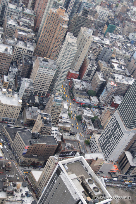view from empire state building -foto: karin scheepstra-